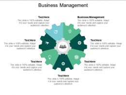 Business Management Ppt Powerpoint Presentation File Vector Cpb
