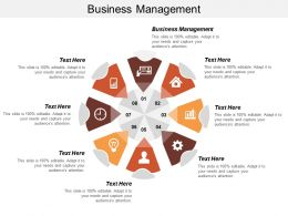 Business Management Ppt Powerpoint Presentation Inspiration Example Cpb