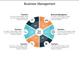 Business Management Ppt Powerpoint Presentation Visual Aids Outline Cpb
