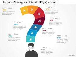 Business Management Related Key Questions Flat Powerpoint Design