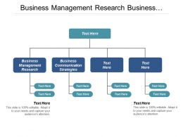 Business Management Research Business Communication Strategies Project Management Cpb