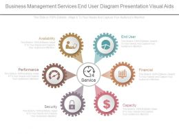 Business Management Services End User Diagram Presentation Visual Aids
