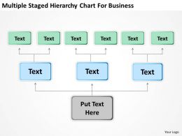 Business Management Structure Diagram For Powerpoint Templates PPT Backgrounds Slides