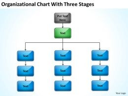 Business Management Structure Diagram Three Stages Powerpoint Templates PPT Backgrounds For Slides