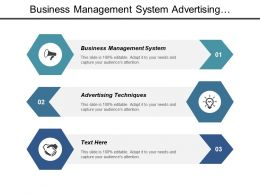 Business Management System Advertising Techniques Human Resource Management Cpb