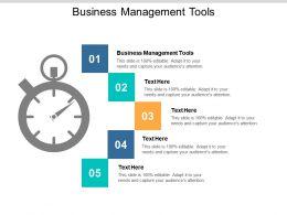 Business Management Tools Ppt Powerpoint Presentation Slides Deck Cpb