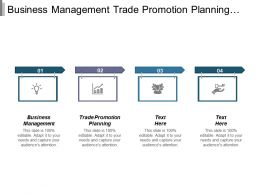 Business Management Trade Promotion Planning Interactive Marketing Campaign Management Cpb