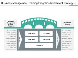 Business Management Training Programs Investment Strategy Internet Businesses Cpb