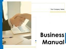Business Manual Powerpoint Presentation Slides