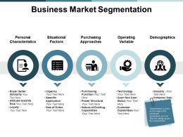 Business Market Segmentation Demographics Ppt Powerpoint Presentation File Vector