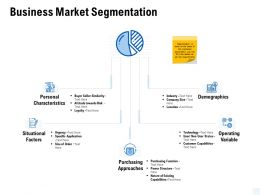 Business Market Segmentation Personal Characteristics Ppt Powerpoint Presentation Ideas