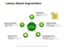 Business Market Segmentation Ppt Powerpoint Presentation Pictures Introduction