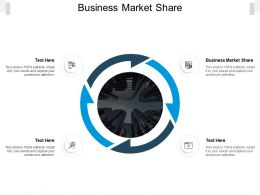 Business Market Share Ppt Powerpoint Presentation Layouts Graphics Download Cpb