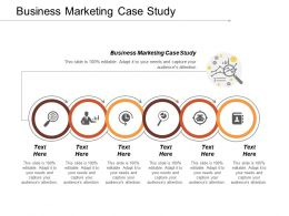 Business Marketing Case Study Ppt Powerpoint Presentation Model Example File Cpb