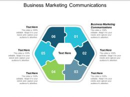 Business Marketing Communications Ppt Powerpoint Presentation File Summary Cpb