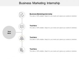 Business Marketing Internship Ppt Powerpoint Presentation Infographic Template Maker Cpb