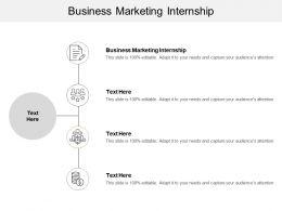 Business Marketing Internship Ppt Powerpoint Presentation Infographic Template Maker Cpb