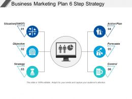 Business Marketing Plan 6 Step Strategy