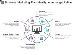 Business Marketing Plan Identity Interchange Refine