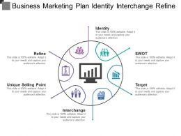 Business Marketing Plan Identity Interchange Refine