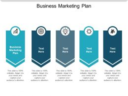 Business Marketing Plan Ppt Powerpoint Presentation Slides Design Ideas Cpb