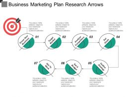 Business Marketing Plan Research Arrows