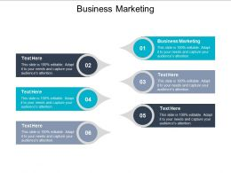 Business Marketing Ppt Powerpoint Presentation Gallery Smartart Cpb