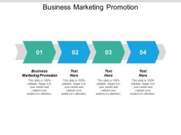 Business Marketing Promotion Ppt Powerpoint Presentation Icon Deck Cpb