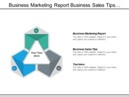 Business Marketing Report Business Sales Tips Business Content Cpb