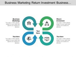 Business Marketing Return Investment Business Planning Financial Forecasting Cpb