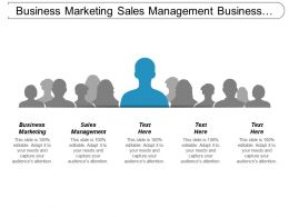 Business Marketing Sales Management Business Networking Product Positioning Cpb