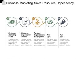 Business Marketing Sales Resource Dependency Theory Purpose Organizational Development Cpb