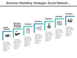 Business Marketing Strategies Social Network Performance Management Organizational Change Cpb
