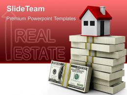 Business Marketing Strategy Housing Rates Real Estate Leadership Ppt Design Slides Powerpoint