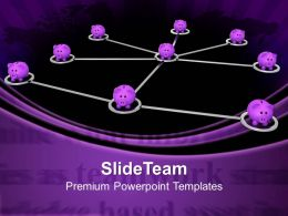 Business Marketing Strategy Templates Teamwork Deposit Future Ppt Slide Powerpoint