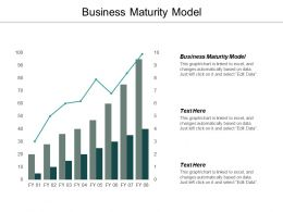 Business Maturity Model Ppt Powerpoint Presentation Outline Gallery Cpb