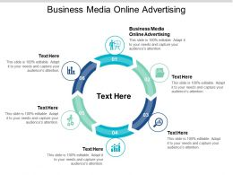 Business Media Online Advertising Ppt Powerpoint Presentation Slides Visual Aids Cpb