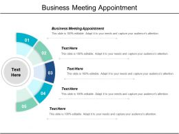 Business Meeting Appointment Ppt Powerpoint Presentation File Graphic Images Cpb