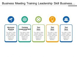 Business Meeting Training Leadership Skill Business Risk Management