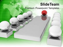 Business Meeting With Leader Discussion Globe Powerpoint Templates Ppt Themes And Graphics 0213
