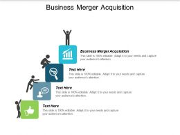 Business Merger Acquisition Ppt Powerpoint Presentation Gallery Brochure Cpb