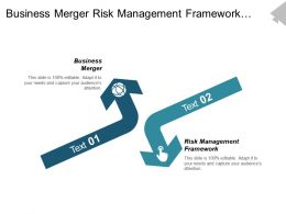 Business Merger Risk Management Framework Online Advertising Analysis Cpb