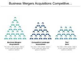Business Mergers Acquisitions Competitive Landscape Assessment Management Functional Cpb