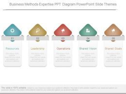Business Methods Expertise Ppt Diagram Powerpoint Slide Themes