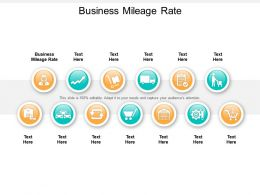 Business Mileage Rate Ppt Powerpoint Presentation Graphics