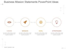 Business Mission Statements Powerpoint Ideas
