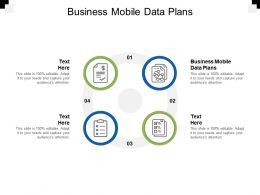 Business Mobile Data Plans Ppt Powerpoint Presentation Inspiration Show Cpb