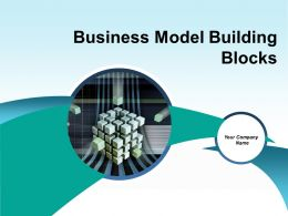 Business Model Building Blocks Powerpoint Presentation Slides