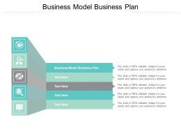Business Model Business Plan Ppt Powerpoint Presentation Slides Introduction Cpb