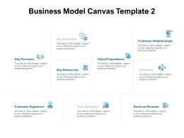 Business Model Canvas Revenue Ppt Powerpoint Presentation Styles